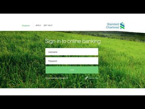 SG Online Banking - All Services