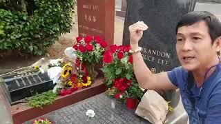 Ghé thăm ngôi mộ thần tượng võ thuật Lý Tiểu Long