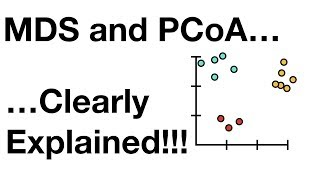 StatQuest: MDS and PCoA