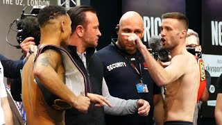 'YOU'RE F***ED!' Regis Prograis vs Josh Taylor weigh-in GETS HEATED | Matchroom Boxing