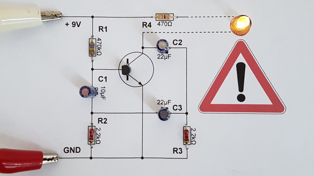 12v Led Blinker Modellbau Tutorial Weicher Led Blinker