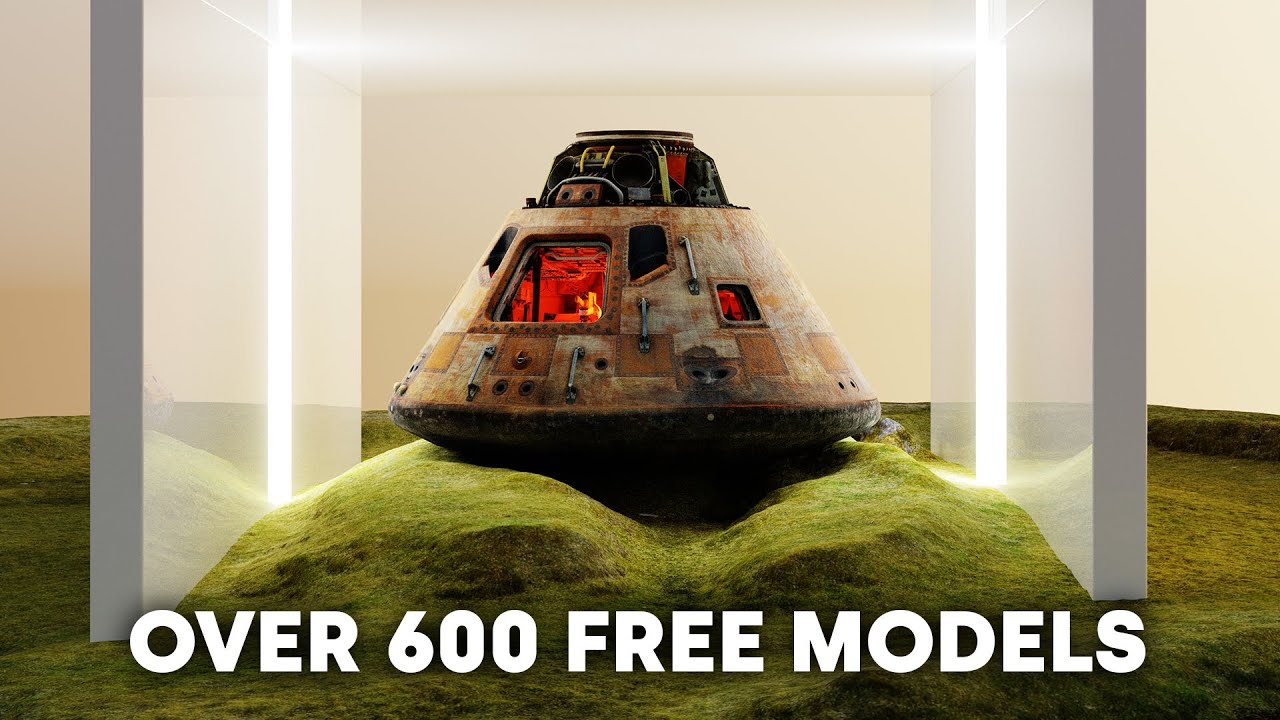 Easy World Building with over 600 FREE 3D MODELS!!! (Blender Tutorial)