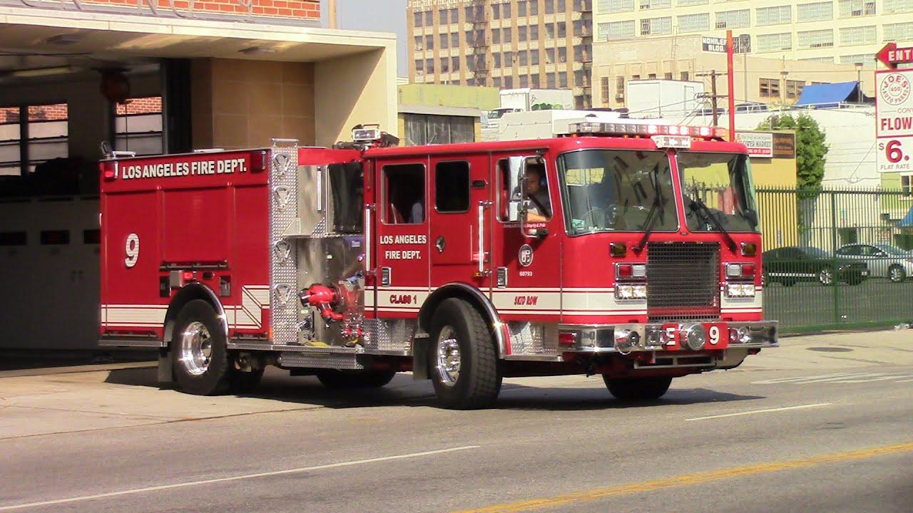 LAFD Engine 9 & LASD