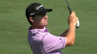 Jimmy Walker takes dead aim attacking the green at Sony Open
