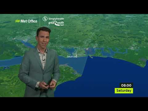 Simplyhealth Great South Run 2018 | Met Office Weather Forecast | Great Run