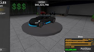 Roblox Ultimate Driving: The Most Expensive UD Update Ever In History! The Full Car List!