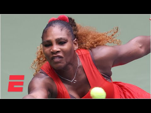 Serena Williams Survives Tsvetana Pironkova To Reach The Semifinals | 2020 US Open Highlights