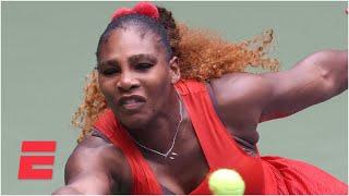 Serena Williams survives Tsvetana Pironkova to reach the semifinals | 2020 US Open Highlights