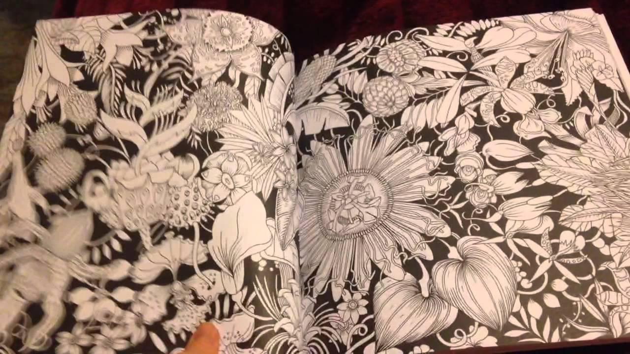 Exotischer Urwald Colouring Book Flip Through