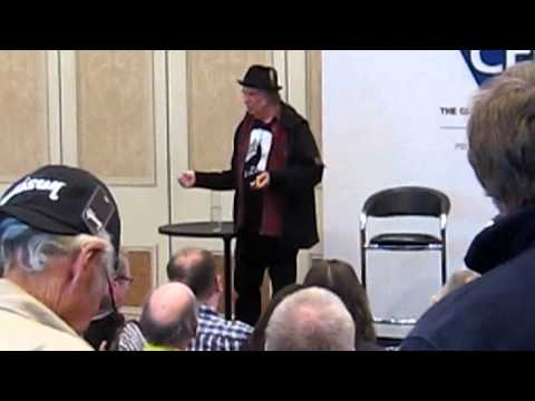 Neil Young on Pono at CES 2015 in Las Vegas