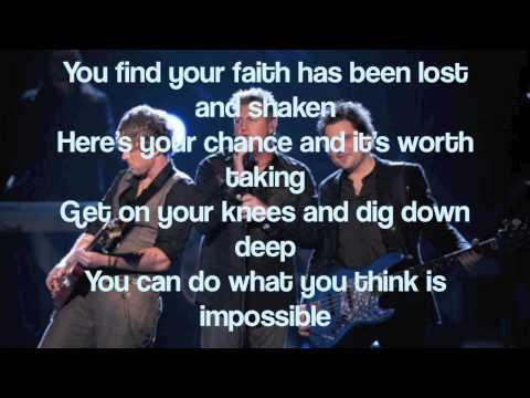 Unstoppable(Olympic Mix) - Rascal Flatts (With Lyrics)