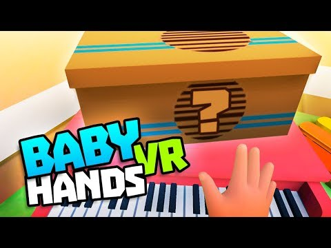 BOX PUZZLE UPDATE & MORE GLITCHES! - Baby Hands VR Gameplay - VR HTC Vive Gameplay