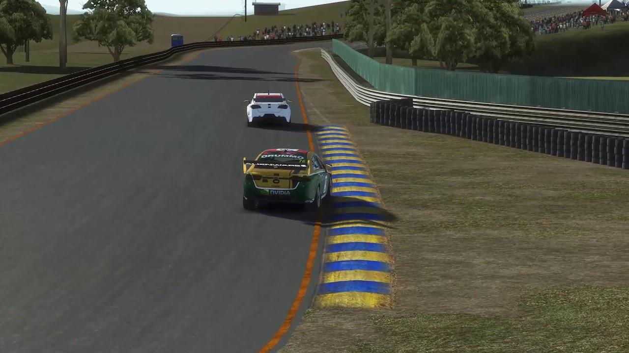 Rfactor 2 VR  V8 Supercars @ Sandown, Australia