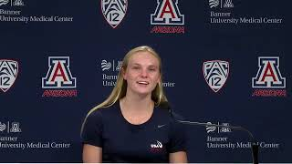 Arizona Olympics Press Conference - Delaney Schnell