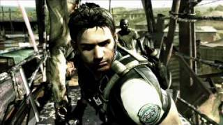 Chris Redfield all voice overs in-game Resident evil 5