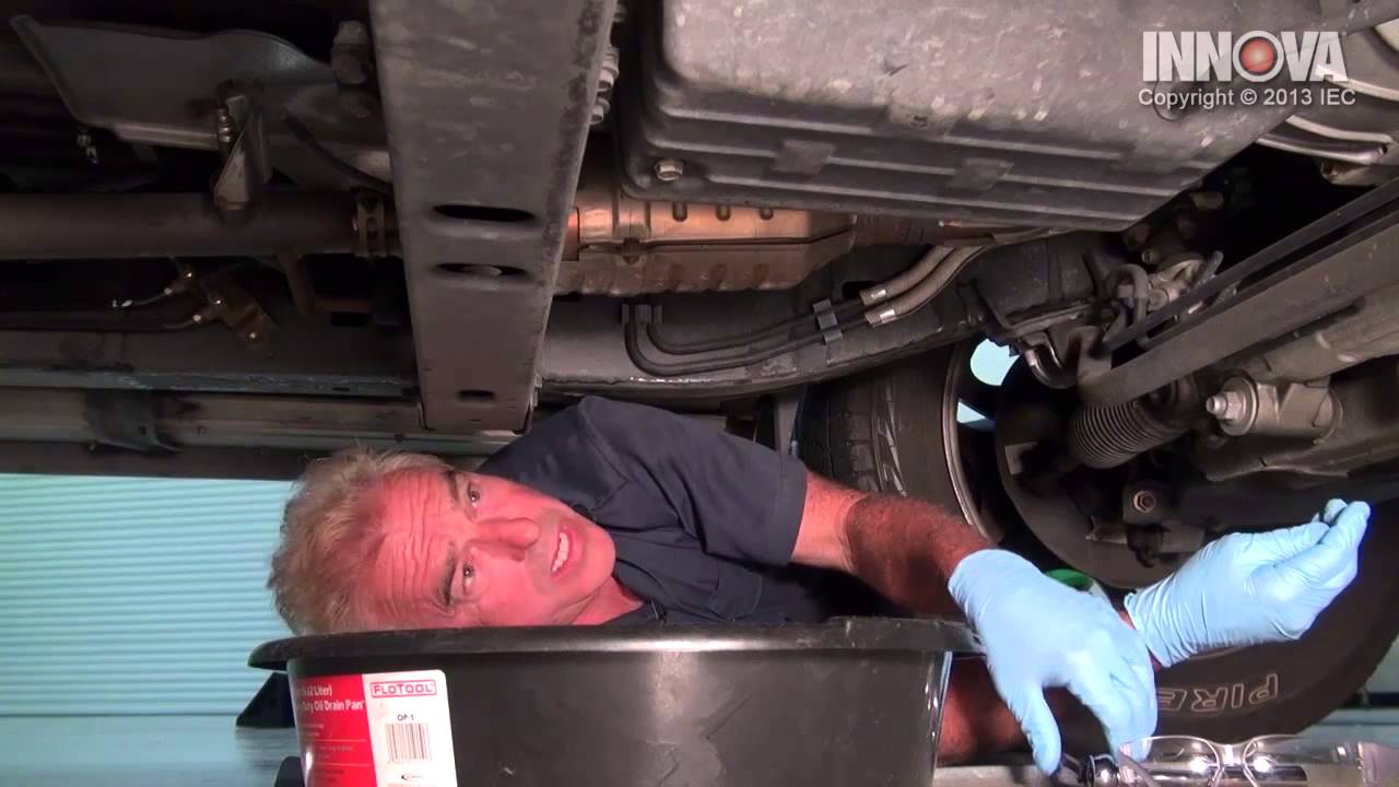 How To Change Automatic Transmission Fluid 2001 Toyota