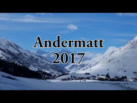 Skiing Andermatt 2017