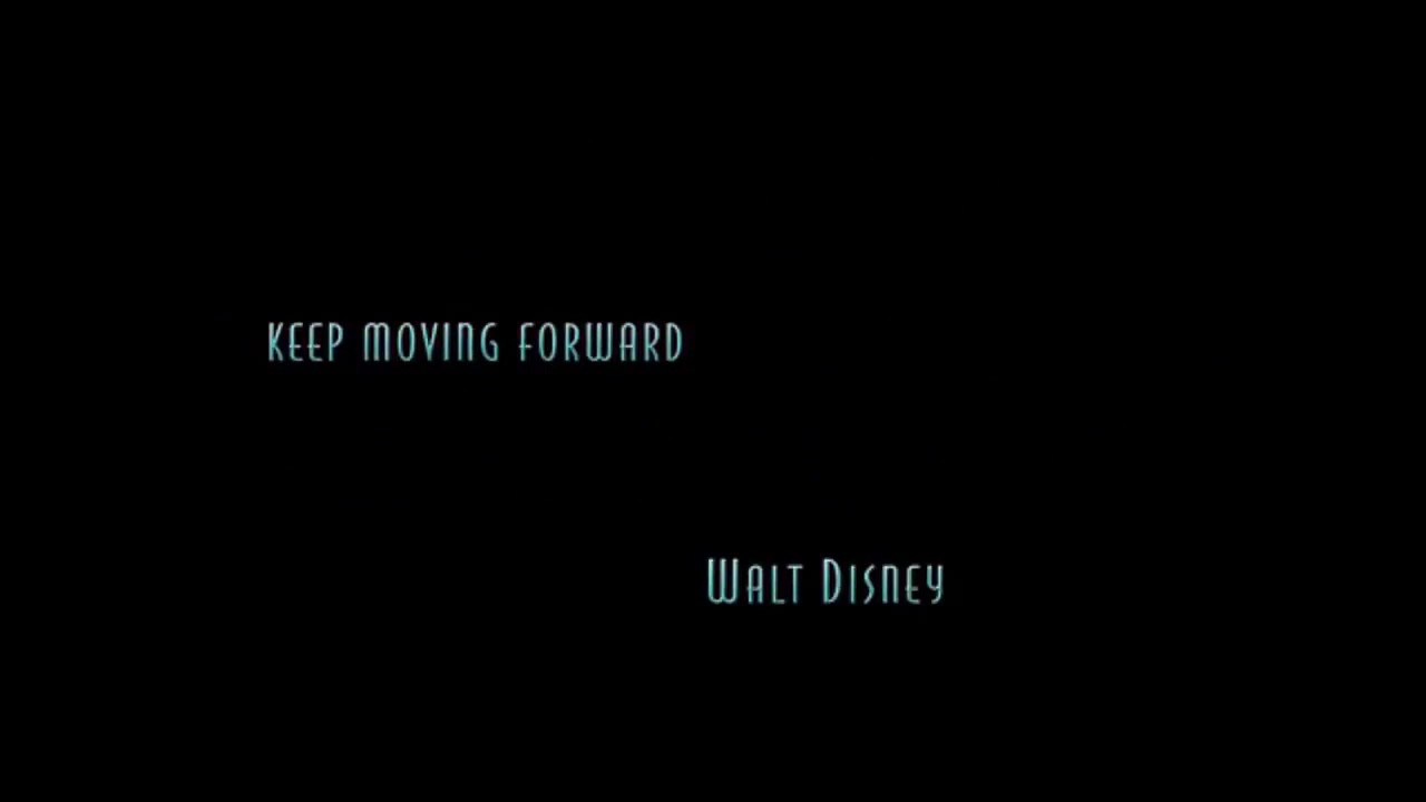 Meet The Robinsons Quote From Walt Disney Youtube