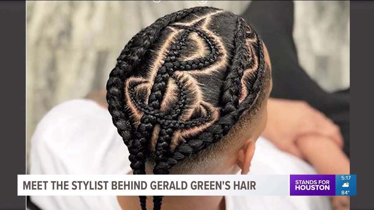 Gerald Green\u0027s hair may be the coolest part of the Rockets playoff series