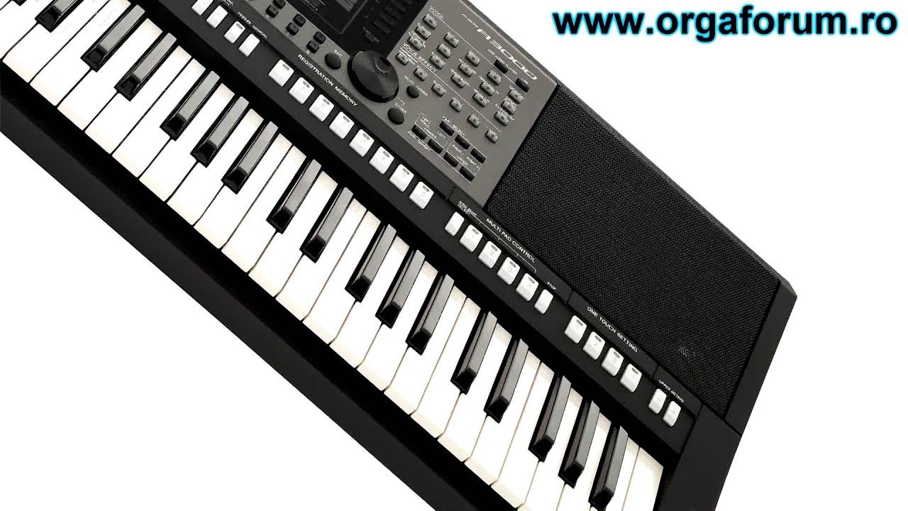 Demo yamaha psr a3000 unofficial youtube for Yamaha a3000 keyboard