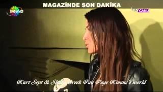 Kivanc Tatlitug Basak Dizer's birthday party..13/4/2014