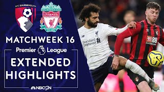 Bournemouth v Liverpool  PREMIER LEAGUE HIGHLIGHTS  120719  NBC Sports
