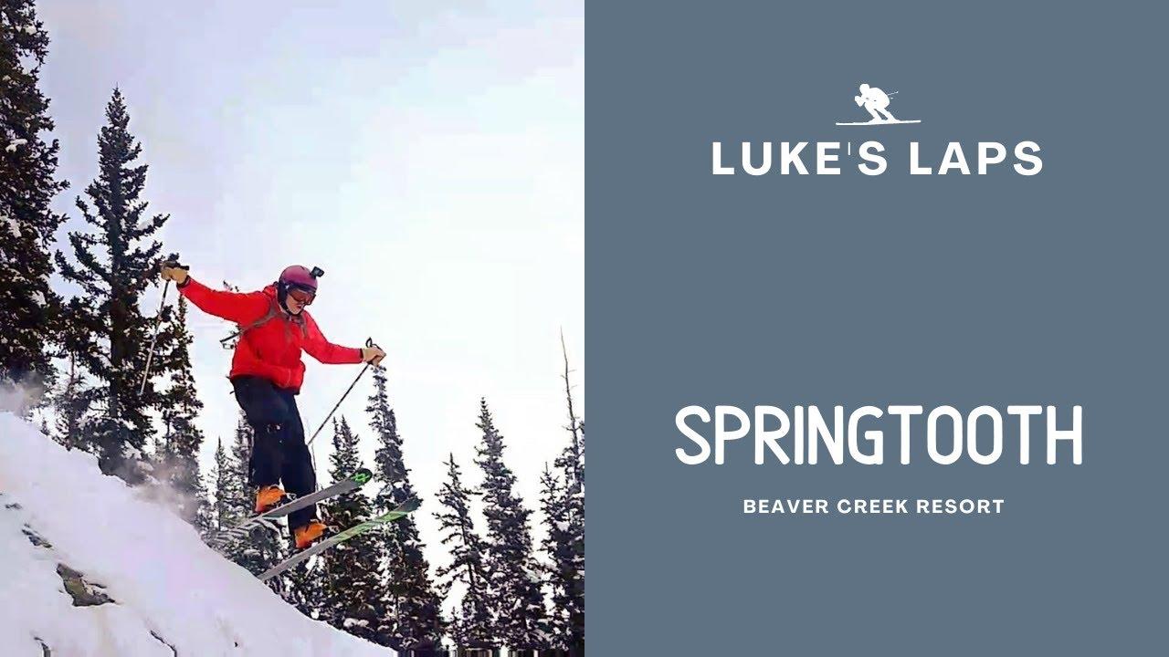 Skiing Springtooth at Beaver Creek Resort