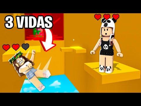 DESAFIO DAS 3 VIDAS NO CORRIDOR OF HELL!😱 ft. Maria Clara
