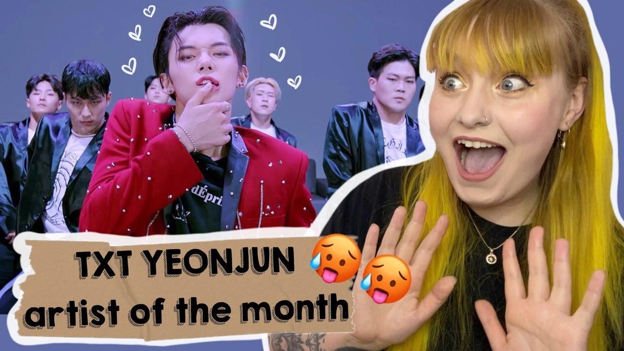 HOT AS HECK!! [Artist Of The Month] TXT YEONJUN: 'Watermelon Sugar' X 'BLOW' cover REACTION