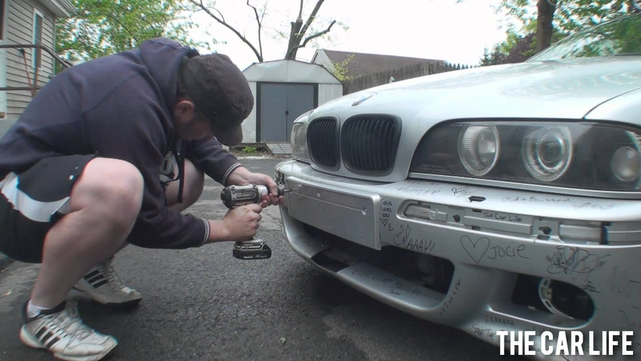 & Mounting a Custom Europlate to #ProjectE39 - YouTube