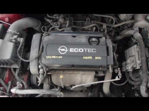 Двигатель Opel для Astra J 2010 после
