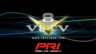 V8TV Stage Interviews and Round Table Discussions at the 2018 PRI Show in Indianapolis