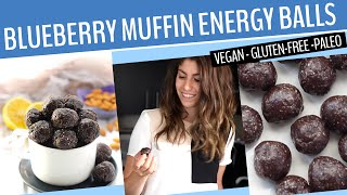 Blueberry Energy Balls Recipe