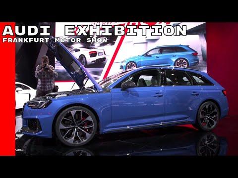 Audi Exhibition Stand At Frankfurt Motor Show
