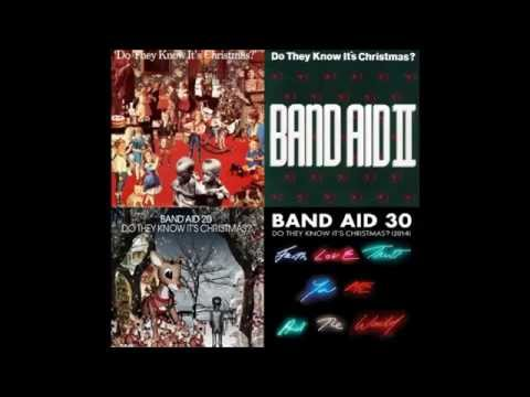 Do They Know It's Christmas? songs compilation - Band Aid/II/20/30