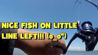 I ALMOST GOT SPOOLED!!! (WHAT?!) Exploring & Fishing the A.C. SOD Banks!