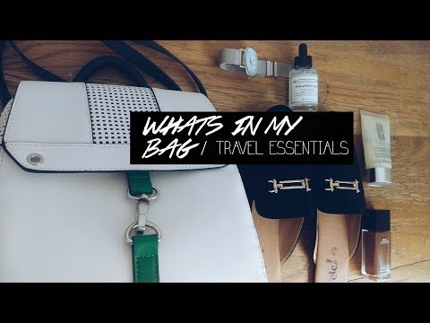 Whats in my Travel bag /Travel essentials