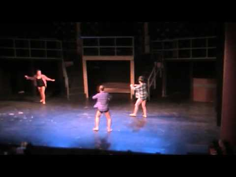 I will wait Session 3 dance show Choreographed by Danielle Hannah Bensky