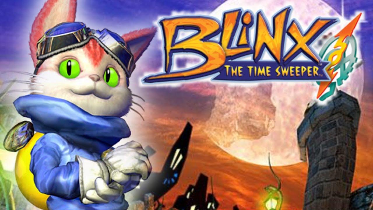 CHAT POMPE UN MAX !!! -Blinx : The Time Sweeper- [DECOUVERTE RETRO]