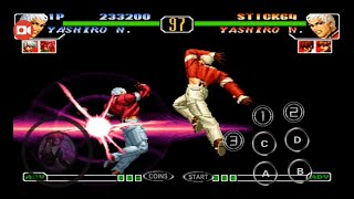 [TAS] The King of Fighters 97 Invincible Mugen Ultra Combo Plus    KOF BD   Para Android Gameplay