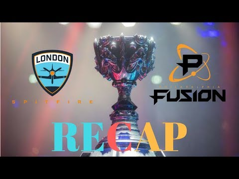 London Spitfire vs Philadelphia Fusion Recap (SPITFIRE better than SEOUL??)