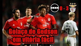 Taça de Portugal 2018/19 – Golaço de Gedson derruba Sertanense em vitória fácil!