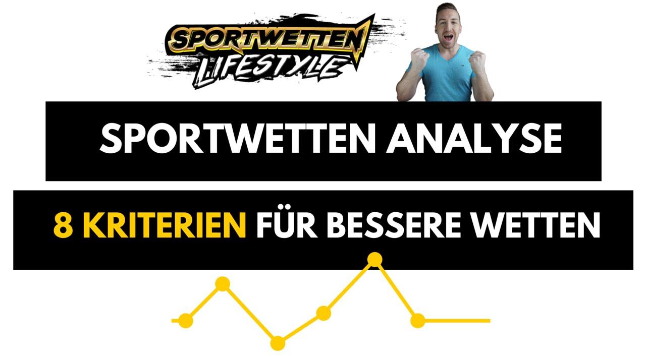 Sportwetten Analyse