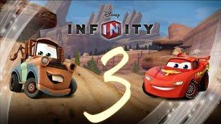 Прохождение Disney Infinity Тачки Часть 3