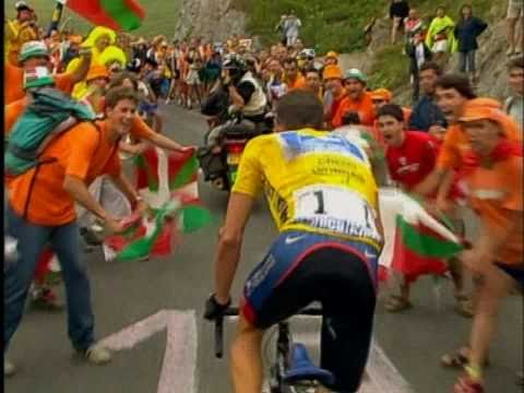 Lance Armstrong 2003 TDF - The Ascent of Luz Ardiden