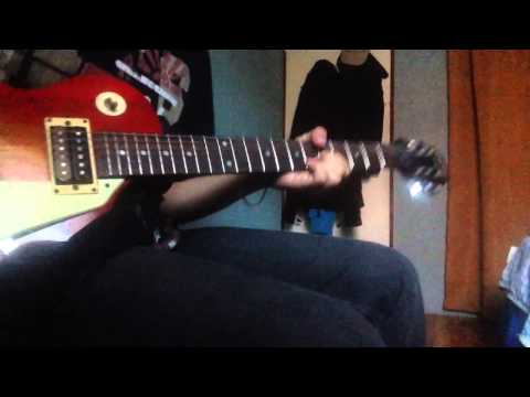 Nirvana - Smells like teen spirit live at reading (guitar cover)