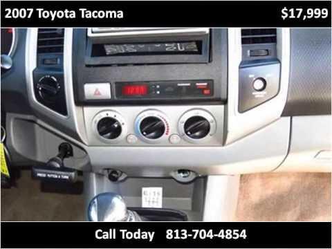 2007 Toyota Tacoma Used Cars Plant City FL