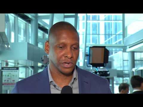 Masai Ujiri with NBA TV Canada - July 7, 2017