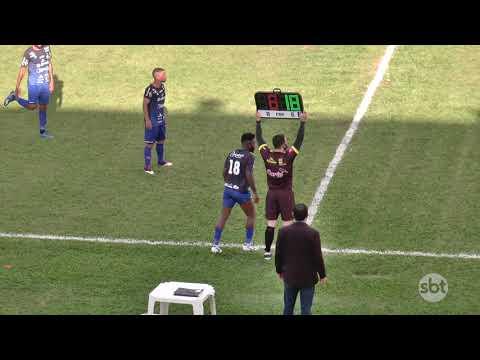 Briga no fim da partida marca a classificação do Nova Mutum E.C. para as semifinais do Matogrossense