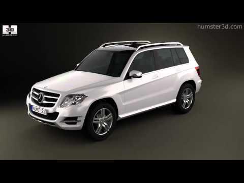 Mercedes-Benz GLK-Class X204 2013 by 3D model store Humster3D.com